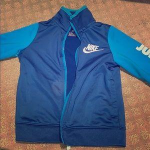 Boys Nike blue tracksuit size 5